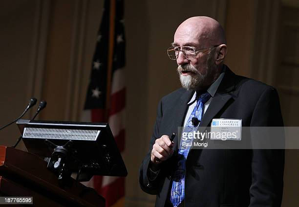 Kip S Thorne makes a few remarks at a Celebration Of Carl Sagan at The Library of Congress on November 12 2013 in Washington DC