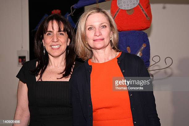 Kipling's Marketing Director Anne Nearman and Kipling's President Julie Dimperio pose for a photo at Kipling's 25th Anniversary Event at Helen Mills...