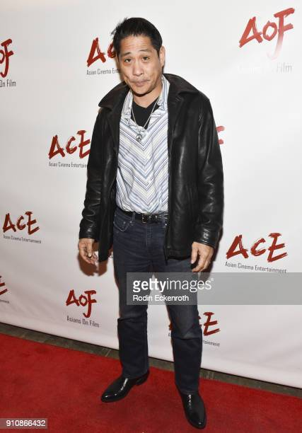 Kipp Shiotani attends the opening night showcase of Asians on Film Festival at Monk Space on January 26 2018 in Los Angeles California