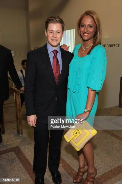 Kipton Cronkite and Anisha Lakhani attend KIPTONARTCOM 5 YEAR ANNIVERSARY NYC BALLET'S Kickoff for Dance With The Dancers FINE FUTURE PERFECT at...