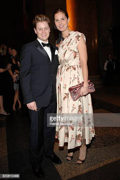 Kipton Cronkite and Melissa Skoog attend THE AMERICAN MUSEUM OF NATURAL HISTORY Winter Dance Sponsored by ROBERTO CAVALLI at American Museum of...