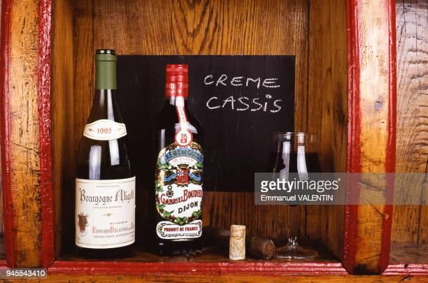 Kir au vin blanc Bourgognealigot et la crme de cassis