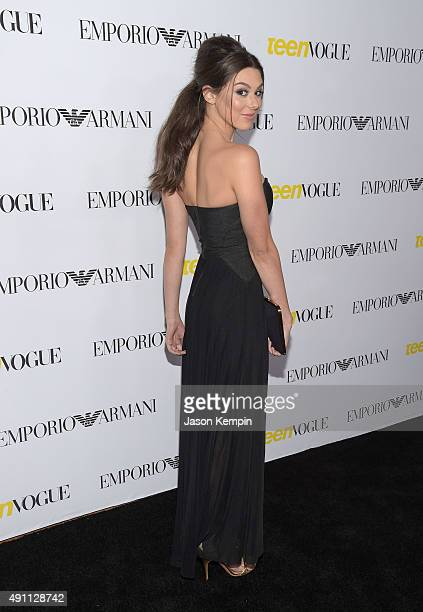 Kira Kosarin attends Teen Vogue's 13th Annual Young Hollywood Issue Launch Party on October 2 2015 in Los Angeles California