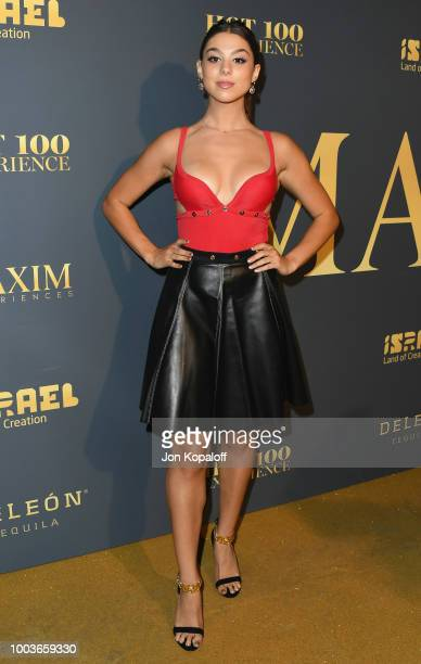 Kira Kosarin attends The Maxim Hot 100 Experience at Hollywood Palladium on July 21 2018 in Los Angeles California