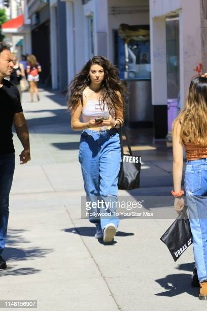 Kira Kosarin is seen on May 24 2019 in Los Angeles