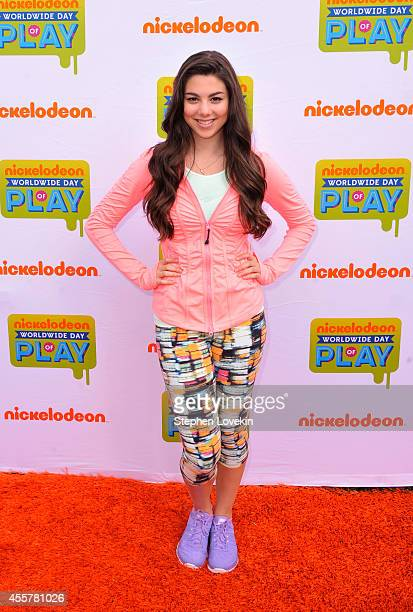 Kira Kosarin of The Thundermans attends Nickelodeon's 11th Annual Worldwide Day of Play at Prospect Park on September 20 2014 in New York City