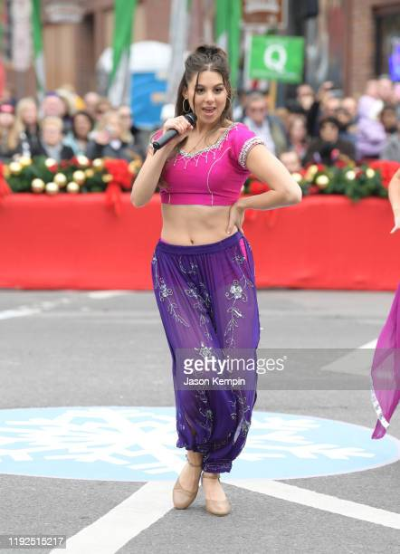 Kira Kosarin performs during the 2019 Nashville Christmas Parade on December 07 2019 in Nashville Tennessee