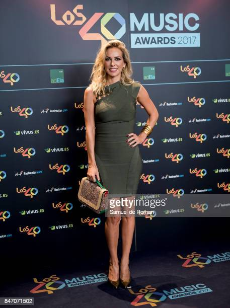 Kira Miro attends 40 Principales Awards candidates dinner 2017 on September 14 2017 in Madrid Spain