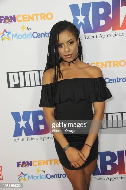 Kira Noir arrives for XBIZ Rise Adult Talent Appreciation Gala held at Exchange LA on November 14 2018 in Los Angeles California