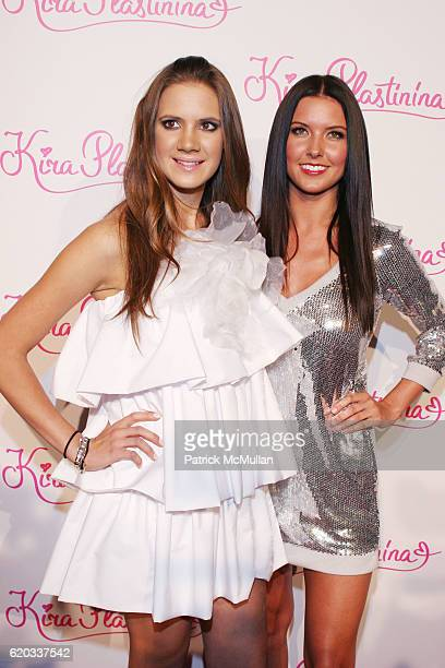 Kira Plastinina and Audrina Patridge attend Kira Plastinina Fashion Collection Launch Party at Los Angeles on June 14 2008 in Los Angeles California