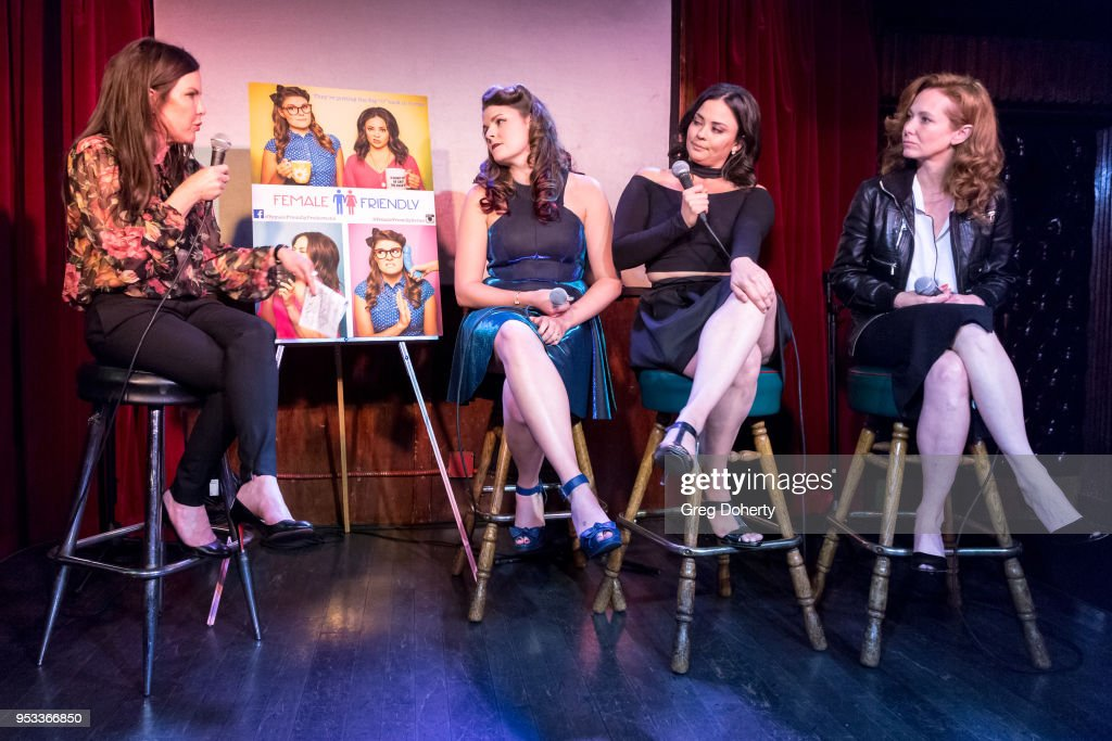Female Friendly Screening at The Three Clubs Hollywood Launching Now : News Photo
