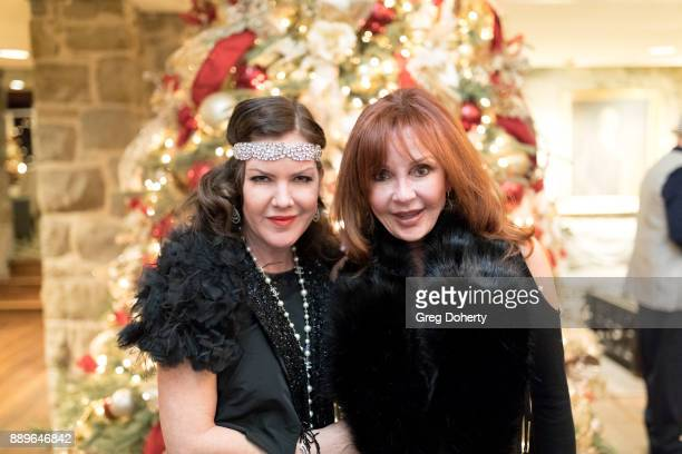 Kira Reed Lorsch and Jacklyn Zeman attend The Thalians Hollywood for Mental Health Holiday Party 2017 at the Bel Air Country Club on December 09 2017...