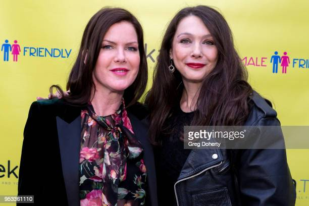 Kira Reed Lorsch and Nancy O'Brien attend the 'Female Friendly' Screening at The Three Clubs Hollywood Launching Now on April 30 2018 in Los Angeles...