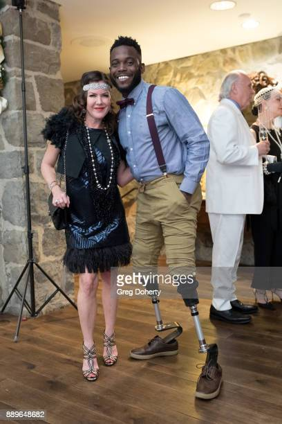 Kira Reed Lorsch and Patrick 'Blake' Leeper attend The Thalians Hollywood for Mental Health Holiday Party 2017 at the Bel Air Country Club on...