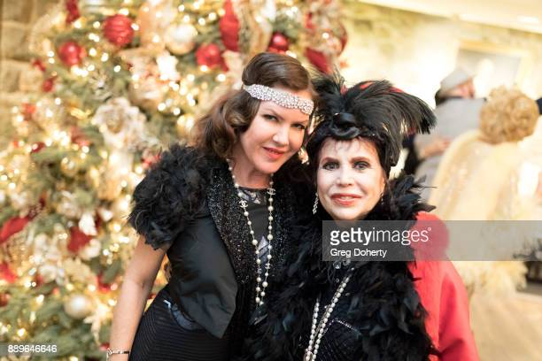 Kira Reed Lorsch and Stephanie Hibler attend The Thalians Hollywood for Mental Health Holiday Party 2017 at the Bel Air Country Club on December 09...