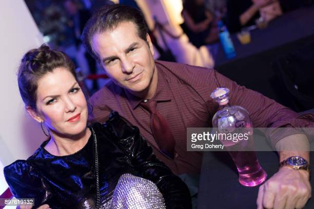 Kira Reed Lorsch and Vincent de Paul attend the Rio Vista Universal's Valkyrie Awards and Holiday Party on December 16 2017 in Los Angeles California