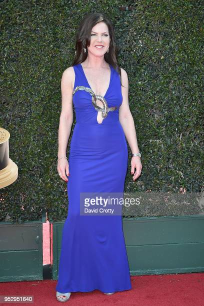 Kira Reed Lorsch attends the 2018 Daytime Emmy Awards Arrivals at Pasadena Civic Auditorium on April 29 2018 in Pasadena California
