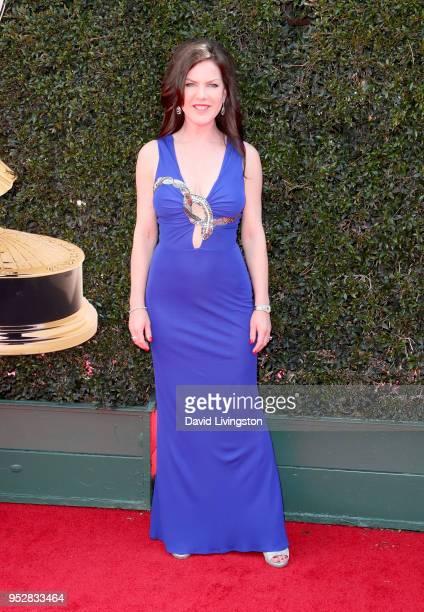 Kira Reed Lorsch attends the 45th annual Daytime Emmy Awards at Pasadena Civic Auditorium on April 29 2018 in Pasadena California