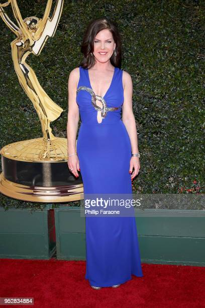 Kira Reed Lorsch attends the 45th annual Daytime Emmy Awards at Pasadena Civic Auditorium on April 29 2018 in Pasadena California