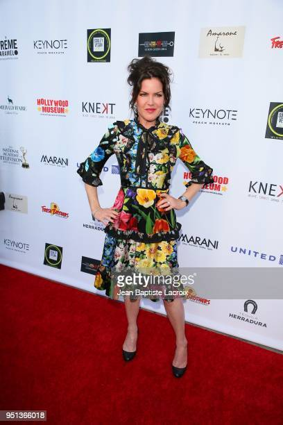 Kira Reed Lorsch attends the National Academy of Television Arts Sciences' 2018 Daytime Emmy Nominee Reception at The Hollywood Museum on April 25...