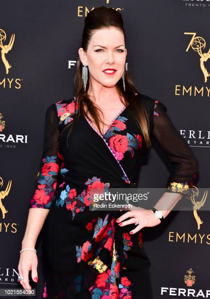 Kira Reed Lorsch attends the Television Academy's Daytime Programming Peer Group Reception at Saban Media Center on August 22 2018 in North Hollywood...