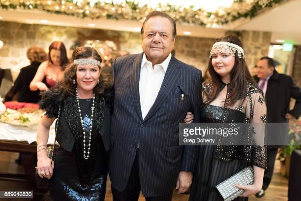 Kira Reed Lorsch Dee Dee Benkie and Paul Sorvino attend The Thalians Hollywood for Mental Health Holiday Party 2017 at the Bel Air Country Club on...