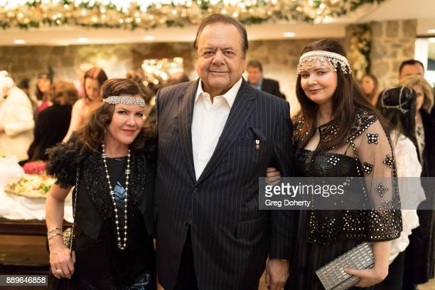Kira Reed Lorsch Dee Dee Sorvino and Paul Sorvino attend The Thalians Hollywood for Mental Health Holiday Party 2017 at the Bel Air Country Club on...