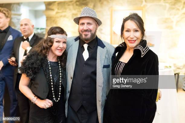 Kira Reed Lorsch Frank Sheftel and Guest attend The Thalians Hollywood for Mental Health Holiday Party 2017 at the Bel Air Country Club on December...