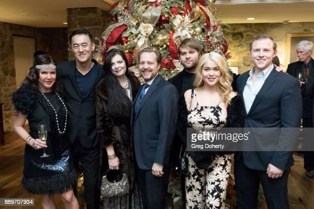 Kira Reed Lorsch Kevin Carriker Rebecca Ganiere James Ganiere Joshua Erp Tory Ross and Michael Grizzard attend The Thalians Hollywood for Mental...