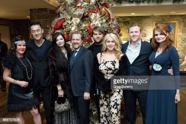 Kira Reed Lorsch Kevin Carriker Rebekah Ganiere James Ganiere Joshua Erp Tory Ross Michael Grizzard and Tiffany Ladner attend The Thalians Hollywood...