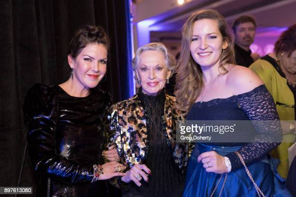 Kira Reed Lorsch Tippi Hedren and Chrstina Troutman attend the Rio Vista Universal's Valkyrie Awards and Holiday Party on December 16 2017 in Los...