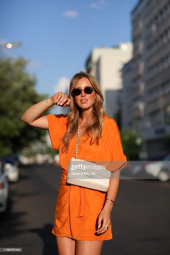 Street Style - Berlin - July 01, 2019 : News Photo