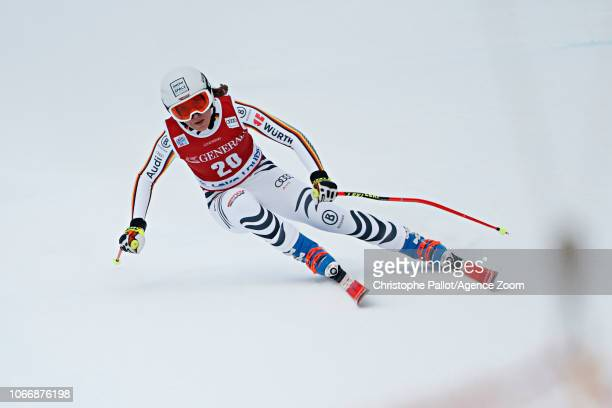Kira Weidle of Germany competes during the Audi FIS Alpine Ski World Cup Women's Downhill on November 30 2018 in Lake Louise Canada