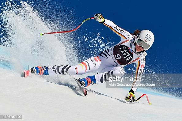 Kira Weidle of Germany competes during the Audi FIS Alpine