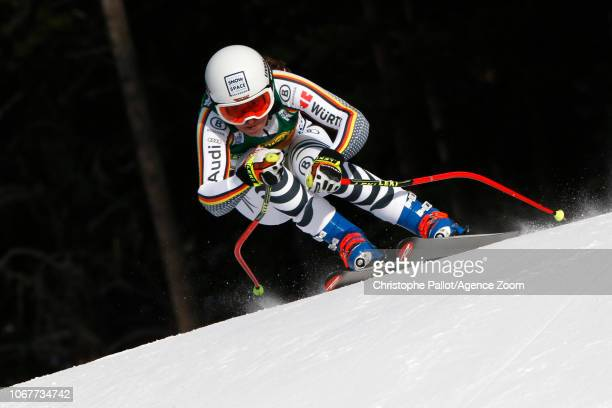 Kira Weidle of Germany in action during the Audi FIS Alpine Ski World Cup Women's Super G on December 2 2018 in Lake Louise Canada