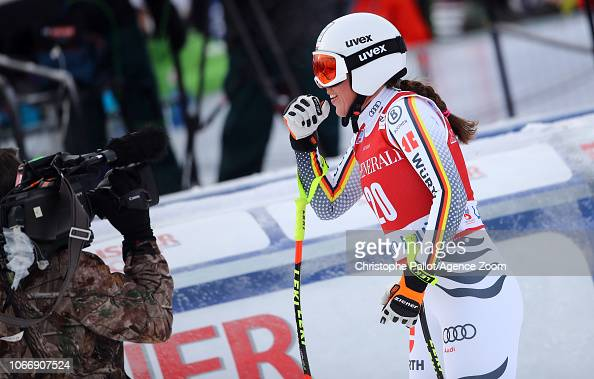 Kira Weidle of Germany takes 3rd place during the Audi FIS
