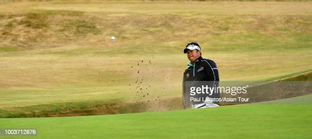 Kiradech Aphibarnrat Carnoustie Golf Club during the British Open on July 22 2018 in Carnoustie Scotland