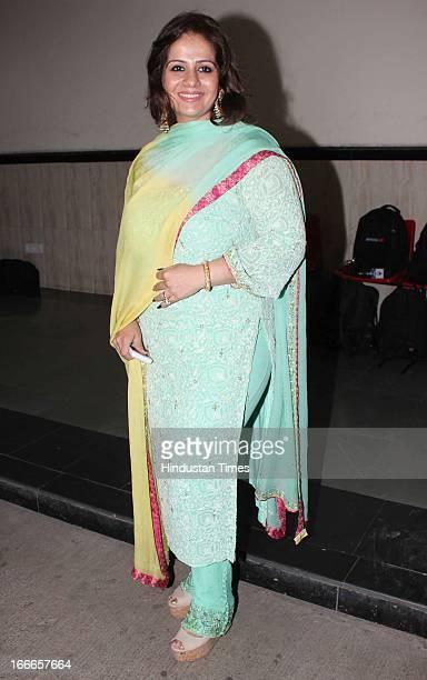 Kiran Bawa at Baisakhi Celebration cohosted by G S Bawa and Punjab Association Of India on April 13 2013 in Mumbai India