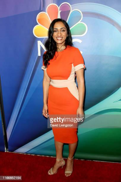 Kiran Deol attends the 2019 TCA NBC Press Tour Carpet at The Beverly Hilton Hotel on August 08, 2019 in Beverly Hills, California.