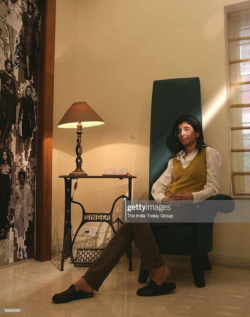 Kiran Uttam Ghosh Fashion Designer At Her Residence In Kolkata West News Photo Getty Images