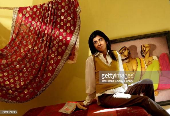 Kiran Uttam Ghosh Fashion Designer At Her Residence In Kolkata West News Photo Getty Images