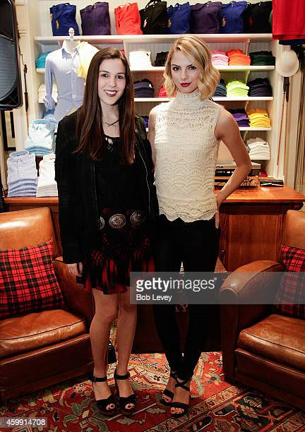 Kirby Marzec Teen Vogue Editor and Vlogger Allie Marie Evans at the Teen Vogue and Polo Ralph Lauren December 2014 Houston Store Opening on December...