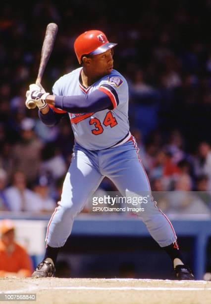 Kirby Puckett of the Minnesota Twins at bat during a game from his 1986 with the Minnesota Twins Kirby Puckett played for 12 years all with the Twins...