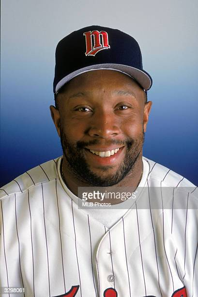 Kirby Puckett of the Minnesota Twins poses for a photo circa 19841995