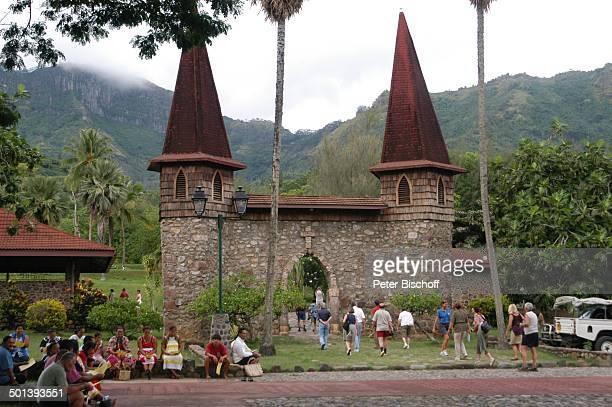 Kirche Nuku¿Hiva MarquesasInseln Südsee Reise BB DIG PNr 167/2005