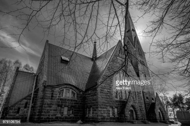 kirche st. mary magdalene - kirche stock pictures, royalty-free photos & images