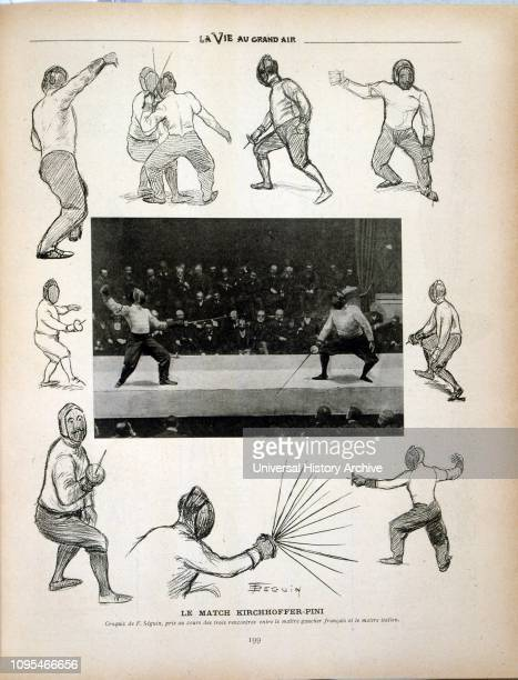 Kirchhoffer versus. Pini, in Paris 1902. Alphonse Kirchhoffer , French fencer who competed in the late 19th century and early 20th century. He...