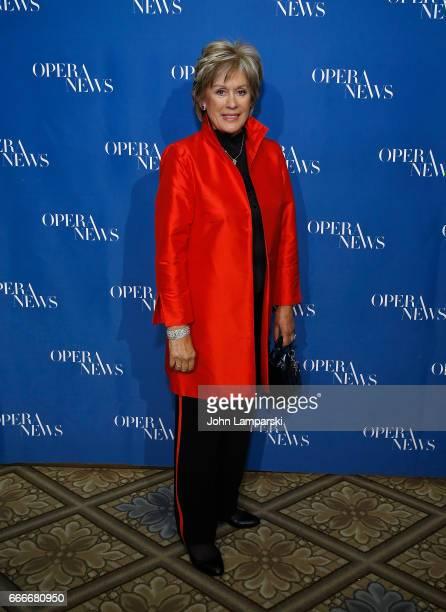 Kiri Te Kanawa attends 12th Annual OPERA NEWS Awards at the Grand Ballroom at The Plaza Hotel on April 9 2017 in New York City