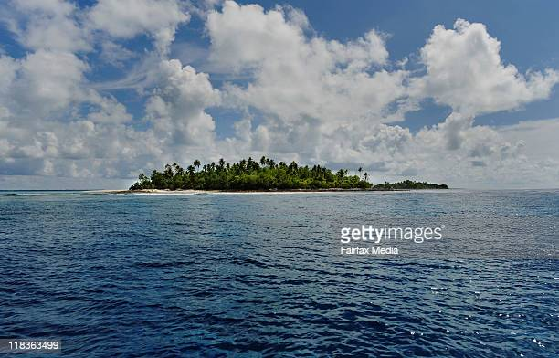 Kiribati Islands Climate Change Islands of Abaiang Much of the archipelago is not more than a few meters above sea level
