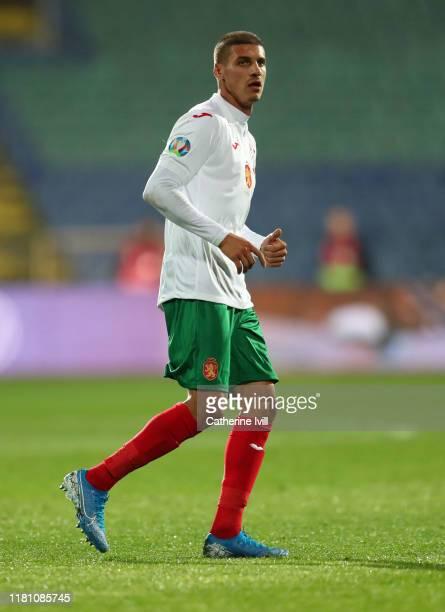 Kiril Despodov of Bulgaria during the UEFA Euro 2020 qualifier between Bulgaria and England on October 14, 2019 in Sofia, Bulgaria.